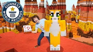 Stampy Cat's Fastest time to make 10 cakes in Minecraft - Guinness World Records