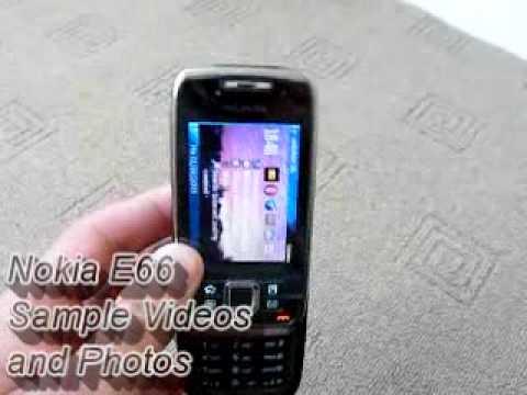 Nokia E66 Camera Video and Photo Samples