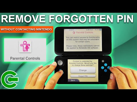 Bypassing 3DS PARENTAL CONTROL PIN Without Contacting Nintendo