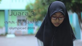 Berbagi cerita Juara 3 Ismu in Arabic Olympicad Jawa Tengah 2018