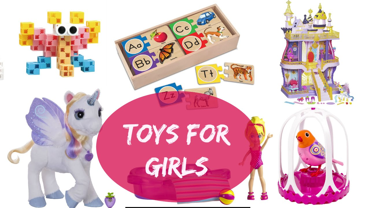 Toys For 4 5 Year Olds : Toys for to years old girl christmas presents youtube