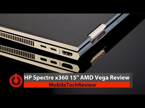 "HP Spectre x360 15"" with AMD Vega Review"