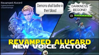 REVAMPED ALUCARD NEW VOICE ACTOR MOBILE LEGENDS NEW VOICE ACTOR MOBILE LEGENDS REVAMPED HEROES MLBB!