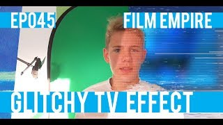 Old TV Glitch Effect in Hitfilm - EP 45