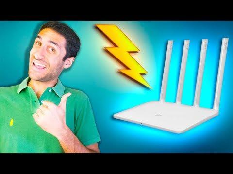 INTERNET SUPER RÁPIDA e Super BARATA !! Xiaomi WiFi Router 3G - Unboxing