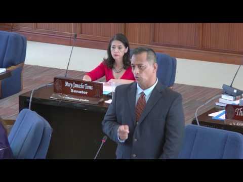 34th Guam Legislature Afternoon Session Part 1 - March 7., 2017