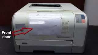 How to replace USB B Receptacle on Formatter Board HP Color LaserJet CP1215 Printer