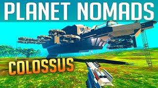 PLANET NOMADS #047 | COLOSSUS | Gameplay German Deutsch thumbnail