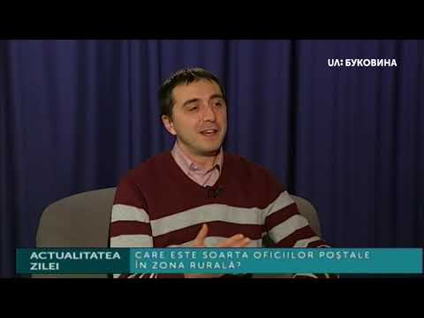 UA: БУКОВИНА: Actualitatea zilei. Чи існуватимуть надалі поштові відділення у сільській місцевості