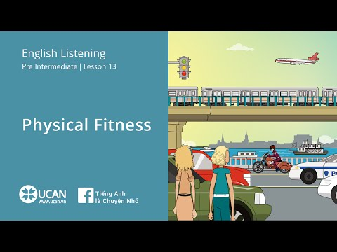 Learn English Listening | Pre Intermediate - Lesson 13. Physical Fitness