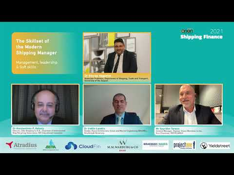 Slide2Open Shipping Finance 2021 Conference - Panel The Skillset of the Modern Shipping Manager