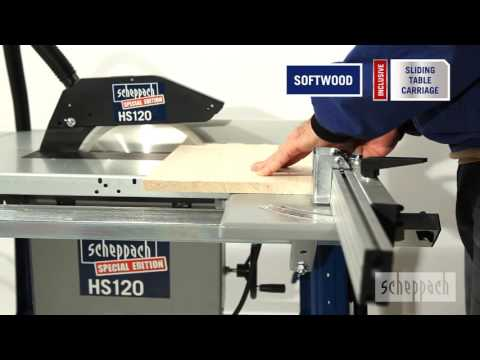 scheppach table saw hs120 gb youtube. Black Bedroom Furniture Sets. Home Design Ideas