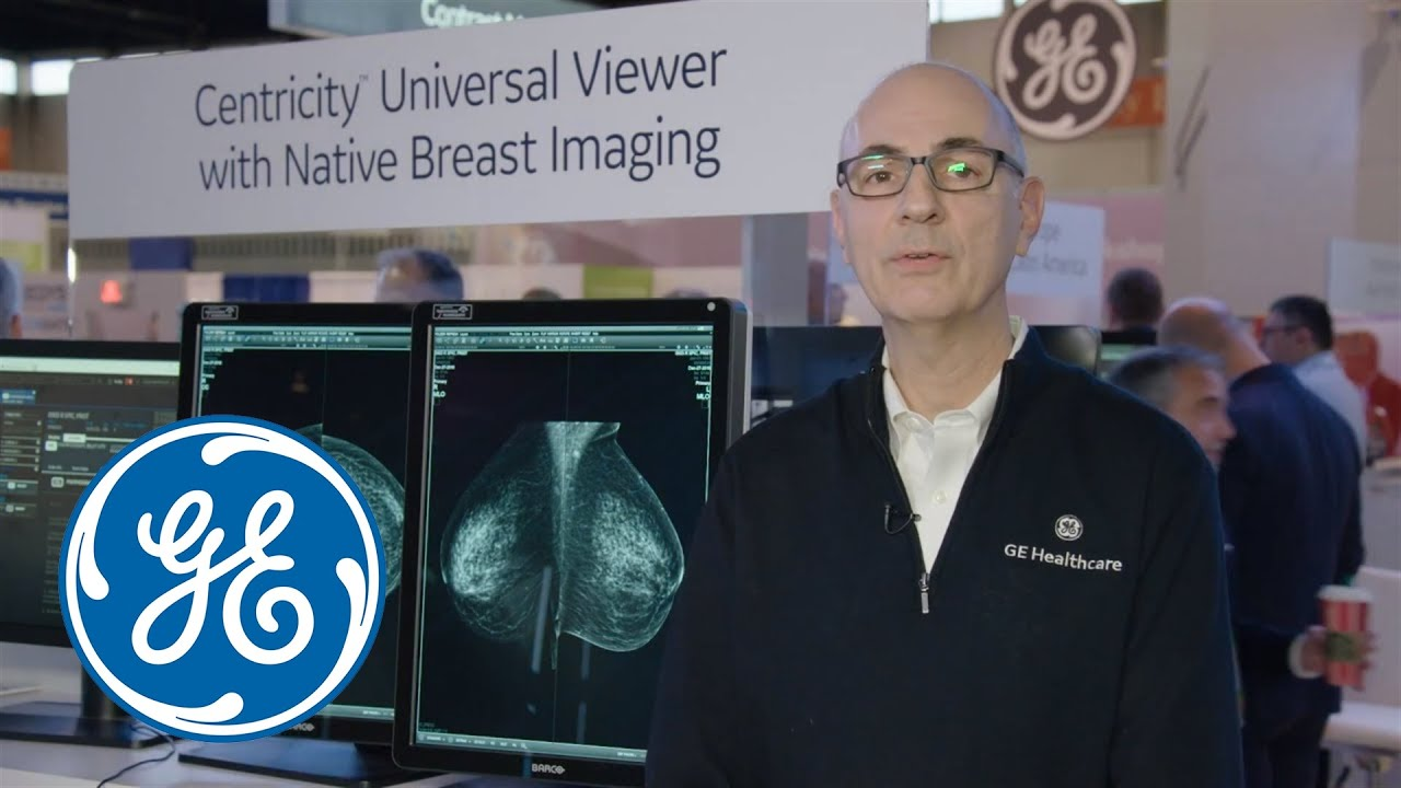 What's new with GE Healthcare – Centricity™ Universal Viewer with Native Breast Imaging #MedicalRadiology