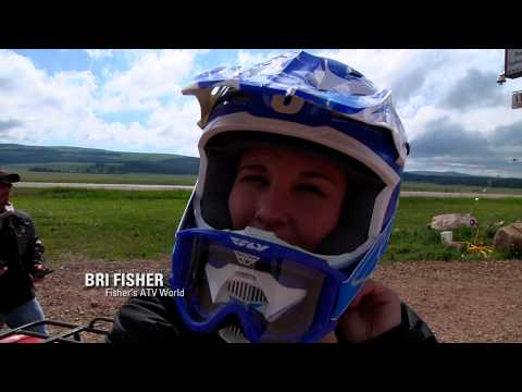 Fisher's ATV World - Big Horn Mountains, WY - Ride with Suzuki Winners Part 1 (FULL)