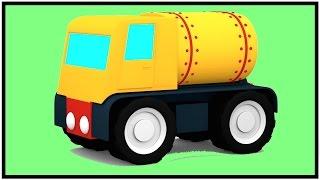 GAZ de CAMION de CONSTRUCTION de PUZZLE Dessins animés pour les Enfants - Vidéos pour les Enfants - les Enfants des Voitures de Dessins animés