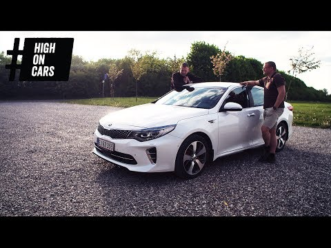Kia Optima GT - er det en V8? - High on Cars