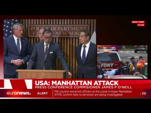 Governor Andrew Cuomo on New York terror attack