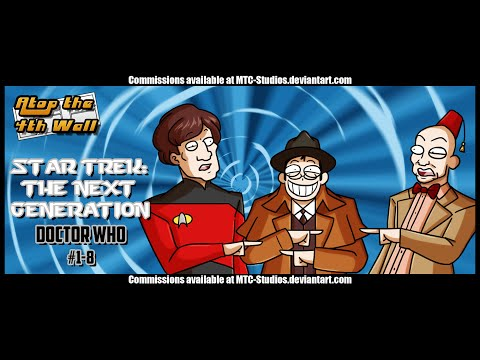 Star Trek: The Next Generation/Doctor Who #1-8 - Atop the Fourth Wall