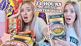 24 HOURS eating ONLY Easter Eggs!
