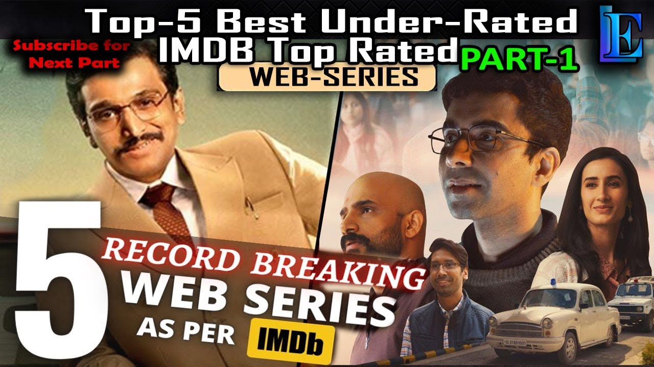 Top-5 Hindi Web Series | IMDb Top Rated | Scam 1992 : The Harshad Mehta Story | Mirzapur l