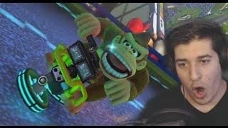 """DONKEY KONG DONESI MI SREĆU!!!""-Mario Kart 8 part 3."