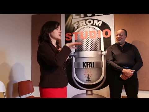 Minneapolis Mayor's Visit to KFAI