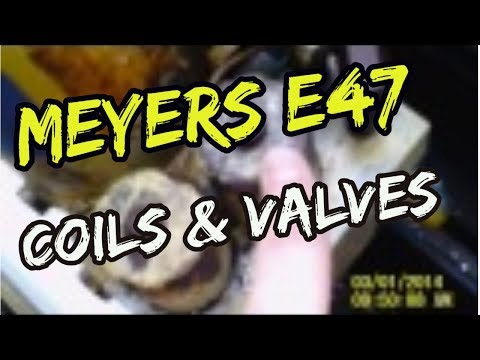 """Meyer  E47 Electro touch coils & valves """"what they do & which is which"""""""