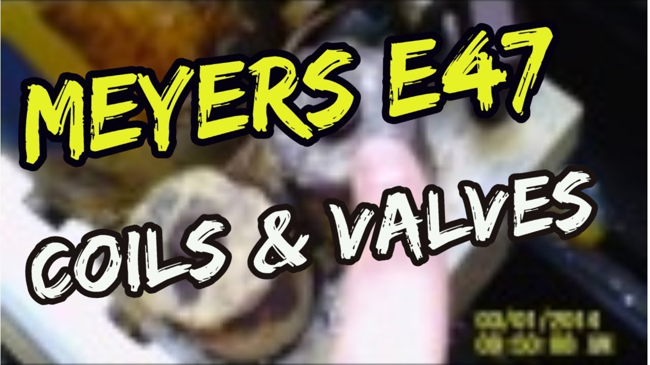 Meyer E47 Electro Touch Coils Valves What They Do Which Is East Trailer Wiring Diagram Youtube