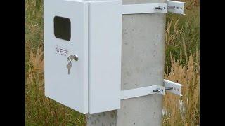 видео Как выбрать ящик для уличного электросчетчика