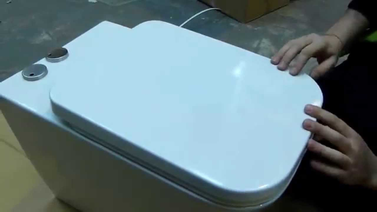 Attaching A Soft Close Toilet Seat YouTube - Blue soft close toilet seat
