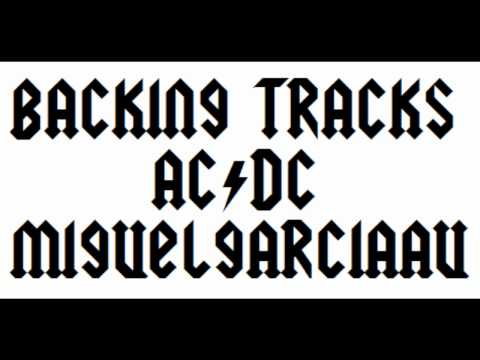 Back in Black AC/DC (Backing Track Live for Guitar 1)