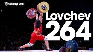 Aleksey Lovchev 264kg Clean & Jerk World Record + Slow Motion 2015 World Weightlifting Championships