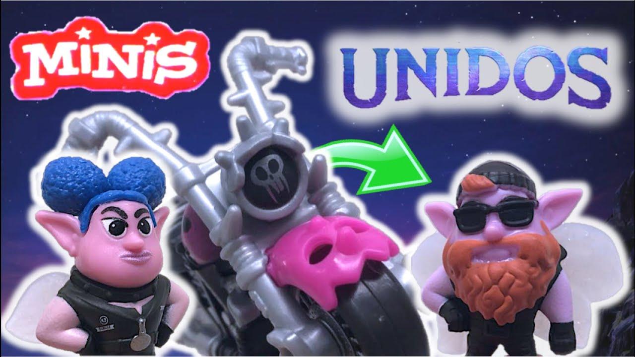 MINIS de UNIDOS - Hadas & Motocicleta | Pack de Minis con Vehículo (Mattel 2020) Reseña ONWARD