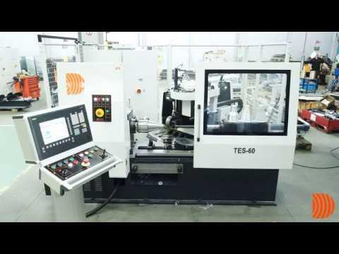 Metal iplik makinası DENN - TES 60 CNC