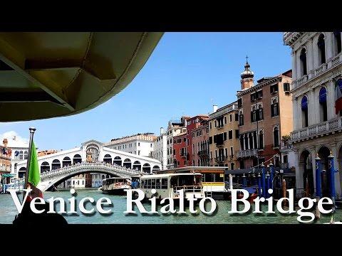 Venice travel guide: Rialto bridge