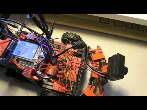 fischertechnik TXT controller : Discovery #97 - OpenCV, Python, oscilloscope, signal, sensor, sonar