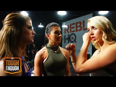 Chelsea shares tender goodbyes with the cast: WWE Tough Enough Digital Extra, August 4, 2015