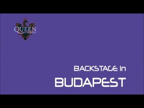 Queen + Paul Rodgers Backstage in Budapest Documentary