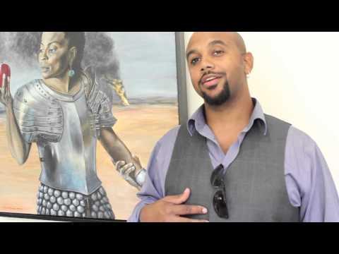 S. Ross Browne at Art Crawl Harlem