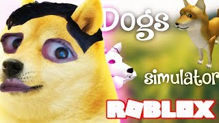 Roblox Dogs Simulator (Clean Role-playing Game Family Friendly Games For Kids)