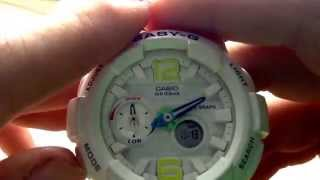 как настроить Casio Bga 180 7b2?