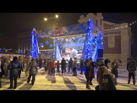 Russia. Novosibirsk. Christmas/Rozhdestvo. 07.01.2013