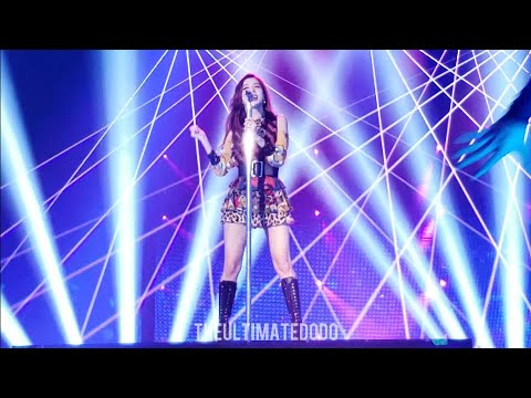 190424 Jisoo Solo Clarity @ Blackpink In Your Area Chicago Concert Live Fancam