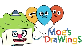 Big Block Sing Song Clown on bike How to draw and coloring fun new Hd video for kids