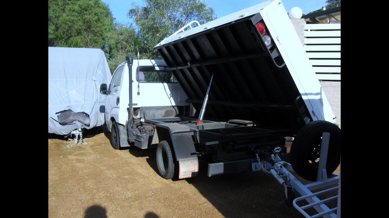New Diesel Trucks 2018 >> My New Kia K2700 Diesel Side Tipper Truck & Trailer for Scrapping - Treasure Hunting - Camping ...