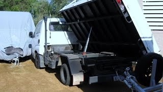 My New Kia K2700 Diesel Side Tipper Truck & Trailer for Scrapping - Treasure Hunting - Camping etc
