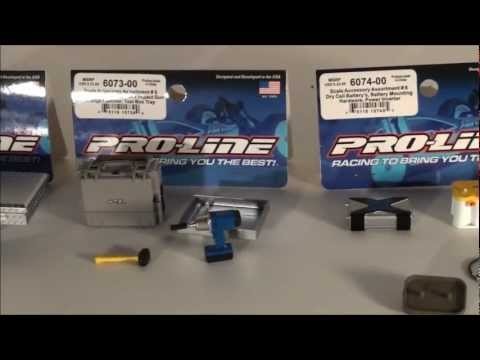 Proline Accessories #4, #5, & #6 Quick  And  Unboxing/overview.