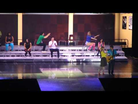 Glee- Lucky/ River