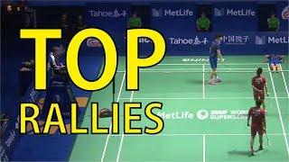 UNSTOPPABLE MINIONS | Doubles Semifinals Kevin/Gideon vs Li Junhui/Liu Yuchen Tahoe China Open 2017
