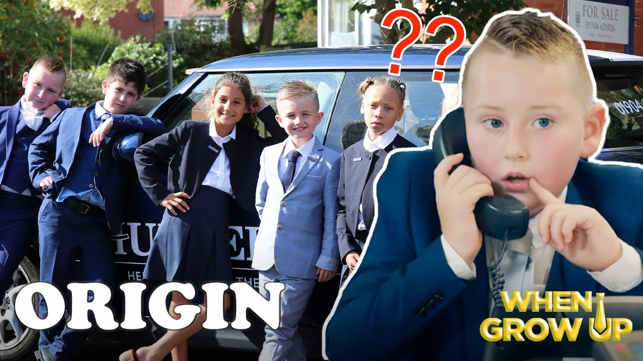Can These Kids Sell a House? | Baby Realtors | When I Grow Up | Episode 3 | Origin